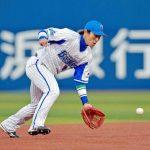 山崎憲晴(Dena戦力外)内野手の阪神移籍が決定!年棒推移と過去成績は?